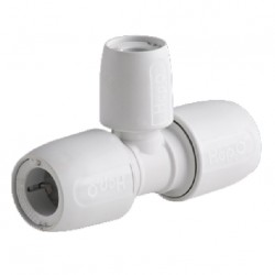 raccord Hepworth blanc T- réduit milieu - 15x10x15mm