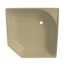 Intérieur receveur douche - 740x540x740x540mm couleur crême clair