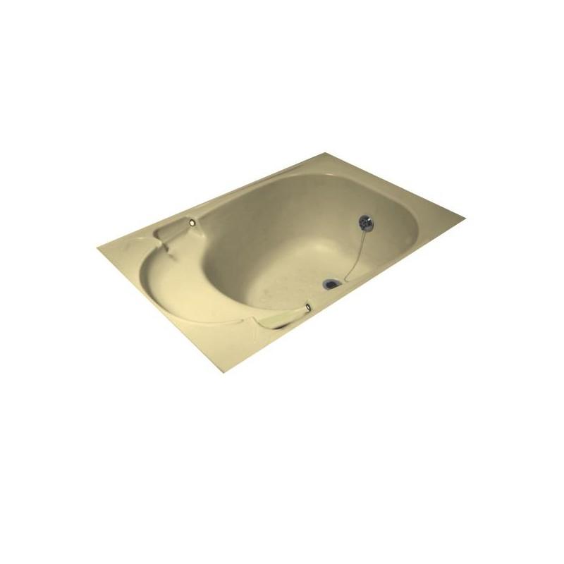 int rieur pour baignoire sabot k500 couleur cr me clair amapola caravane mobil home. Black Bedroom Furniture Sets. Home Design Ideas