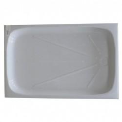 Intérieur bac à douche 670x1040mm couleur blanc