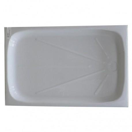 int rieur bac douche 670x1040mm couleur blanc amapola caravane mobil home. Black Bedroom Furniture Sets. Home Design Ideas
