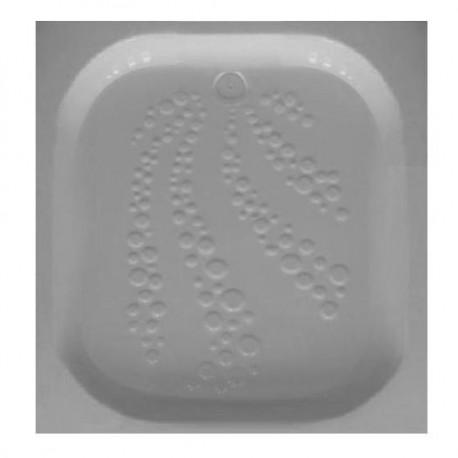Intérieur mini bac à douche couleur blanc