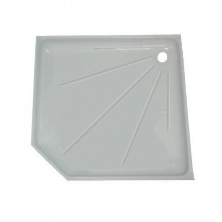 Intérieur bac à douche 800x800mm couleur blanc