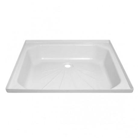 Bac à douche 715x575mm couleur blanc