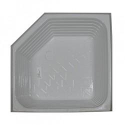 Bac à douche ATLAS profond en angle 760x760x200mm couleur blanc