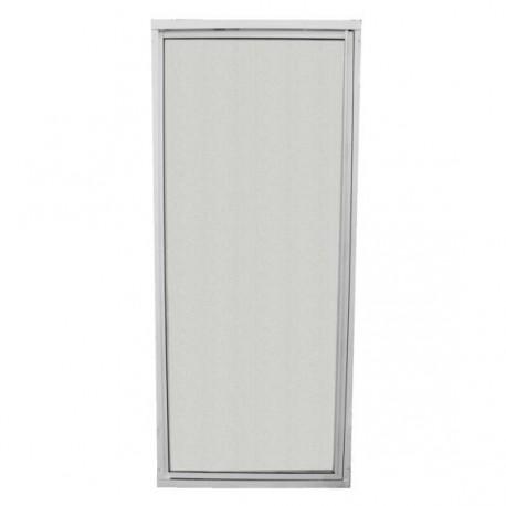 Porte de douche avec encadrement vitre r sistante s curit charni re universelle 1600x540mm for Vitre de douche