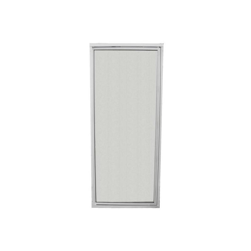 Porte de douche avec encadrement vitre r sistante s curit for Charniere porte de douche