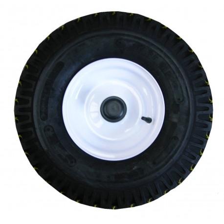 Roue de mobilhome 600x9 - montée avec pneu + chambre à air 6.00x9