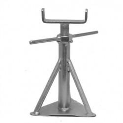 Chandelle en acier zingué très résistant (très petite) avec boulon transversal 200 à 270mm