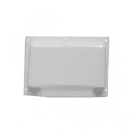 Grille d'aération pour salle d'eau - grande - 254x180mm couleur blanc