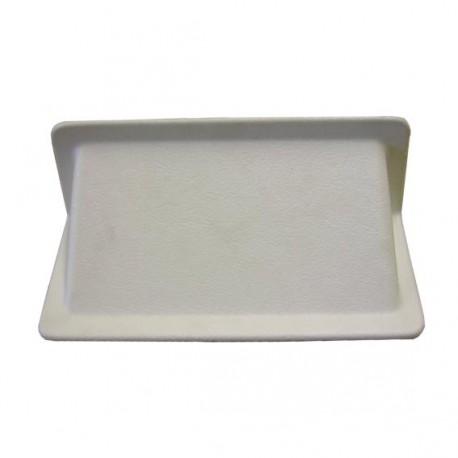 Grille d'aération en plastique pour plancher couleur blanc