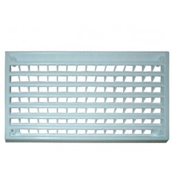 Aérateur plastique pour intérieur - 170x90mm couleur blanc
