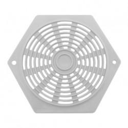 Aérateur plastique hexagonal - 60mm couleur blanc