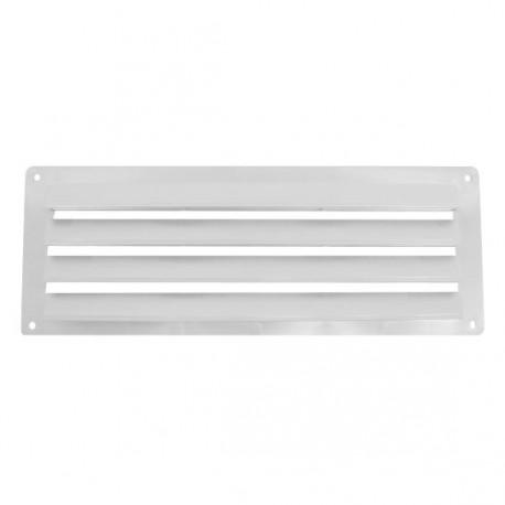 Aérateur plastique pour intérieur - 240x90mm couleur blanc
