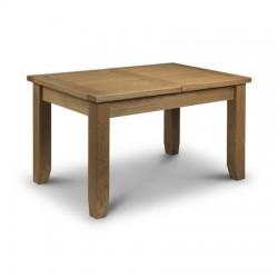 Table de salle à manger à rallonges intégrées ASTORIA dim. 140+40x90x78cm