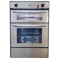 Four & grill à encastrer Midi prima SPINFLO 72000 avec allumage 230V et tiroir de rangement - dim. 726x495x421mm couleur inox