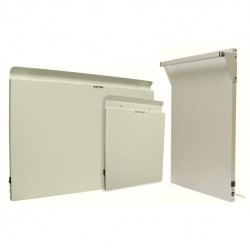 Kit chauffage électrique pour mobilhome : 2 chambres. Comprenant référence AN1001 + B301 + B302 couleur blancleur blanc
