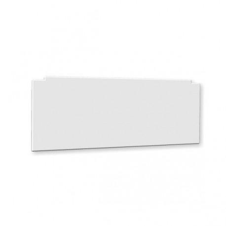 Façade pour baignoire - 1 côté couleur blanc