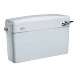 Chasse d'eau WC SLIMLINE - 508x152x318mm couleur blanc