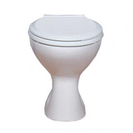 Cuvette WC LECICO ATLAS sur pied seule couleur blanc