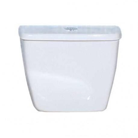 Chasse d'eau WC pour cuvette gLECICO ATLAS - 405x385x185mm couleur blanc