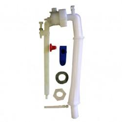 Bras de flotteur (arrivée d'eau par le bas)