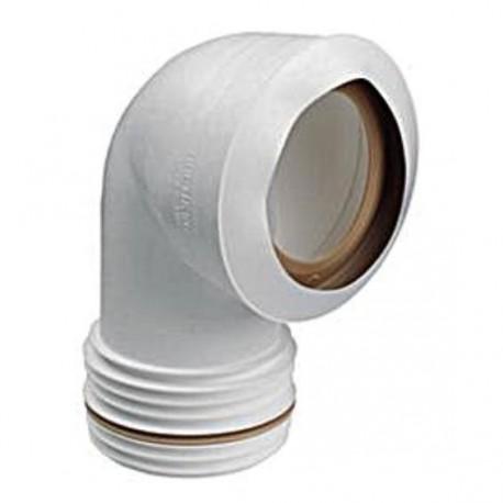 Connecteur à 90°C WC - 101mm
