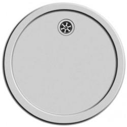Lavabo rond inox fond plat - diam. 450mm x 30mm (avec K16)
