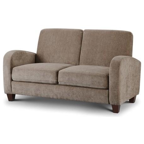 canap 2 places vivo tissu chenille couleur vison amapola caravane mobil home. Black Bedroom Furniture Sets. Home Design Ideas