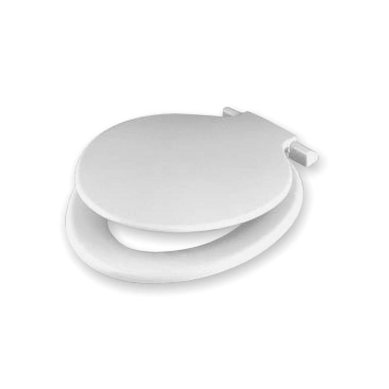 abattant calypso pour wc couleur blanc amapola caravane mobil home. Black Bedroom Furniture Sets. Home Design Ideas