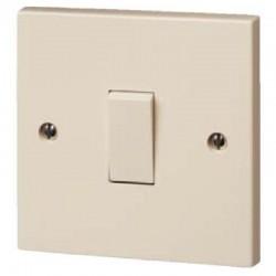 Interrupteur simple couleur crême