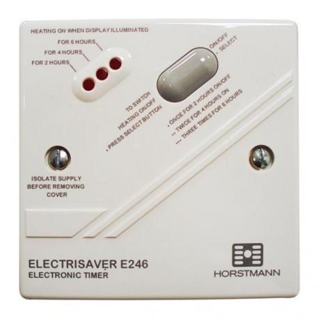 Minuterie électronique pour chauffage électrique couleur blanc