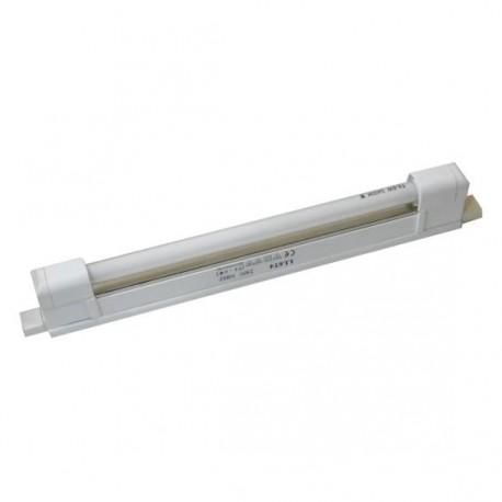 Réglette sans interrupteur 6W 280x20x45mm couleur blanc