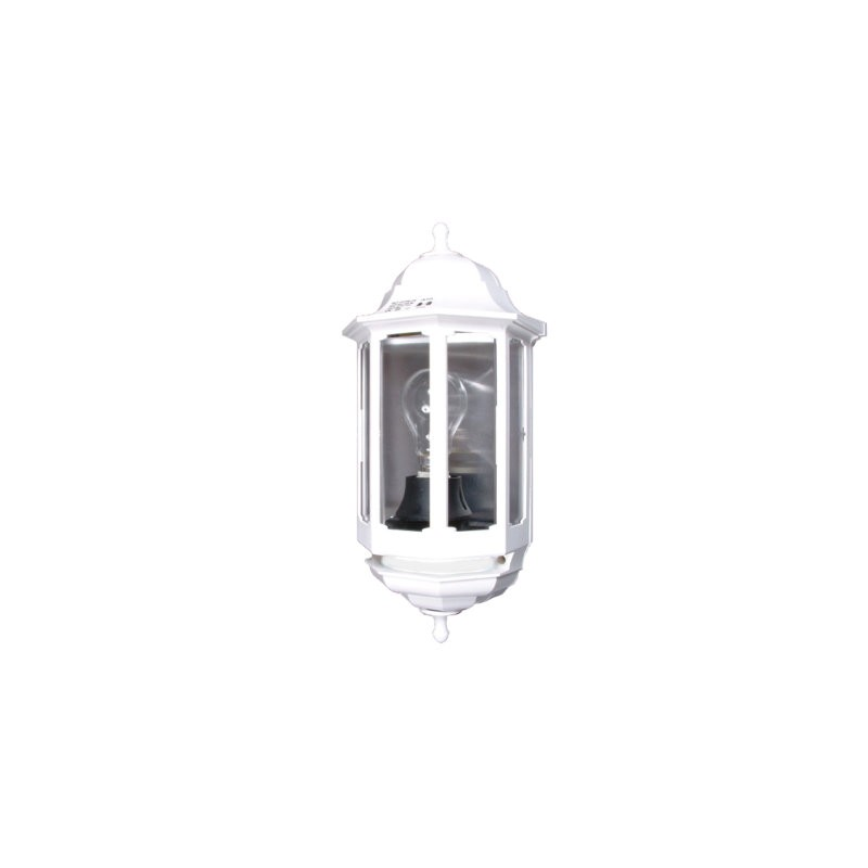 Eclairage Ext Rieur Demi Lanterne Aluminium Et Verre Ip44