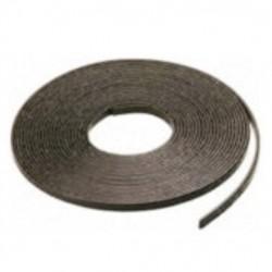 Bande magnétique adhésive pour portes de douche 7,5mm x 10m rouleau