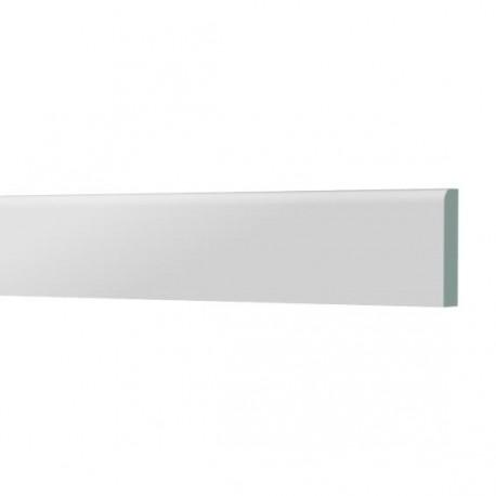 plinthe pvc 45x6mm 2x2 5m couleur blanc amapola. Black Bedroom Furniture Sets. Home Design Ideas