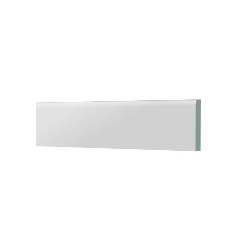 plinthe pvc 65x6mm 2x2 5m couleur blanc amapola. Black Bedroom Furniture Sets. Home Design Ideas