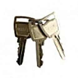 Trousseau clés de rechange complet pour serrure ELLBEE E eurolock numéros E100 à E200