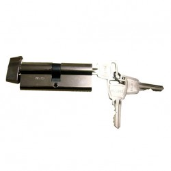 Barillet seul Séie M avec 3 clés 80mm 40/40 eurolock ELLBEE