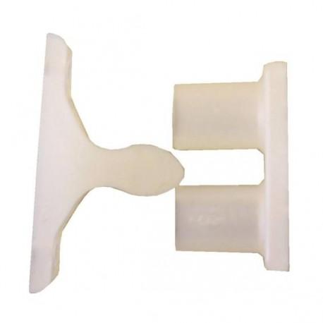 fermeture de placard panco en plastique couleur blanc amapola caravane mobil home. Black Bedroom Furniture Sets. Home Design Ideas