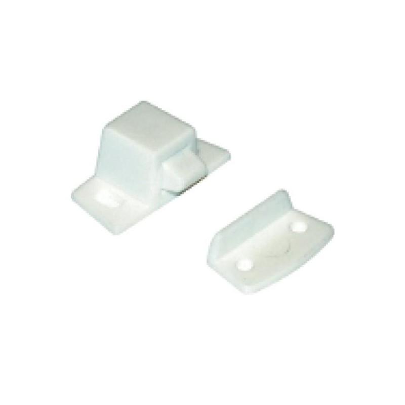 fermeture de placard rocker en plastique couleur blanc amapola caravane mobil home. Black Bedroom Furniture Sets. Home Design Ideas