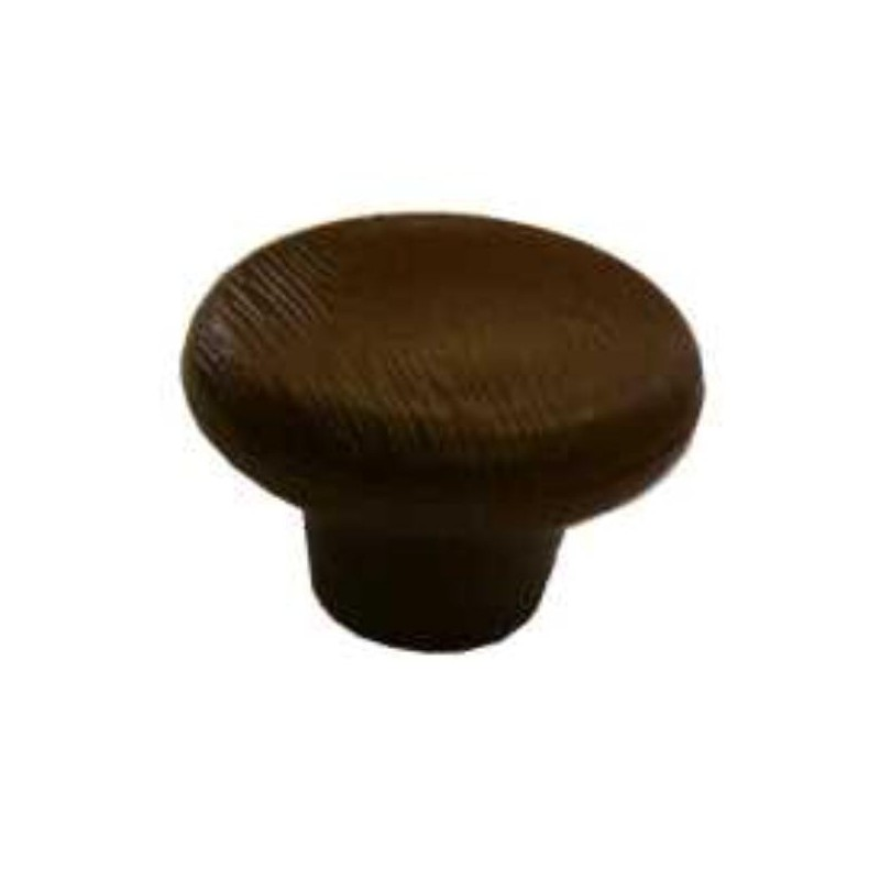 Bouton de porte effet bois 96 mm couleur brun Amapola caravane mobil home # Bouton De Porte Bois