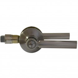 Poignées de porte sans serrure de sécurité - couleur chrome