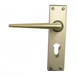 Poignées de porte d'entrée mobilhome eurolock ELLBEE en aluminium (la paire)