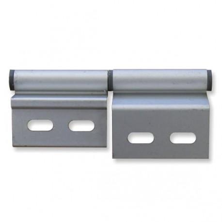Charnière pour mobilhome - gauche en aluminium