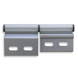 Charnière pour mobilhome - droite en aluminium