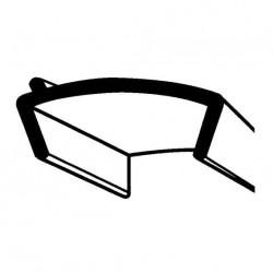 Joint de fenêtre de mobilhome - 39mm x rouleau de 10m couleur blan