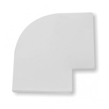 Coin moulure ellbee int rieur de fen tre couleur blanc for Moulure fenetre interieur