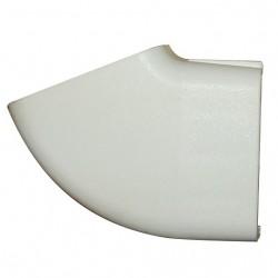 Coin moulure ELLBEE intérieur de fenêtre couleur blanc