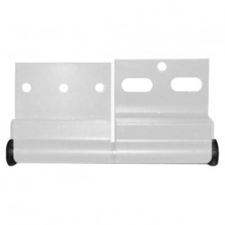 Charnière ELLBEE  pour mobilhome en aluminium  - gauche couleur blanc